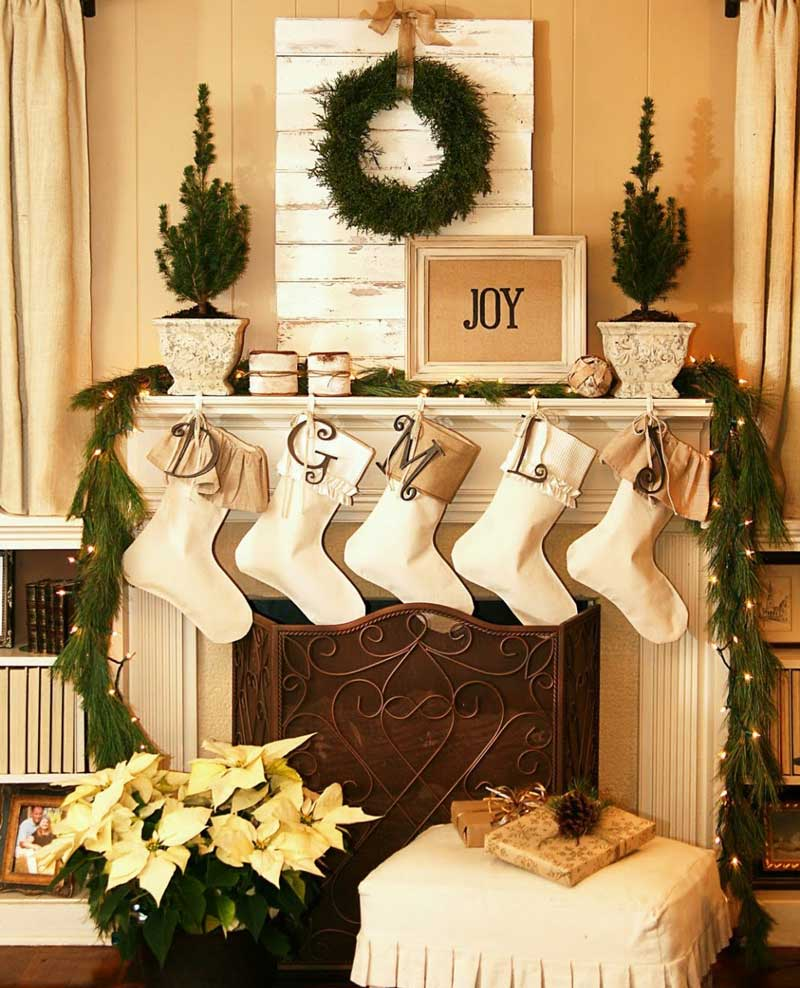 Christmas living room decorations -  Christmas Living Room Decorating Ideas 1
