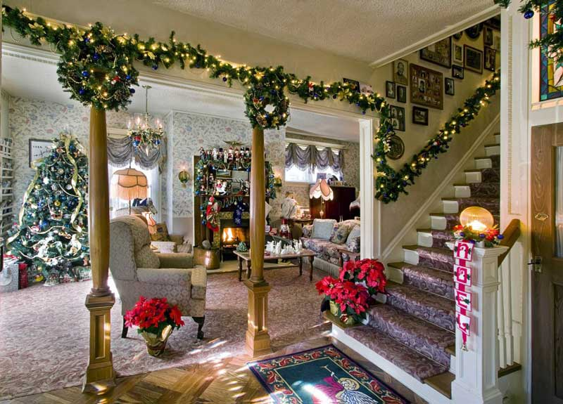 Christmas Living Room Decorating Ideas Quiet Corner