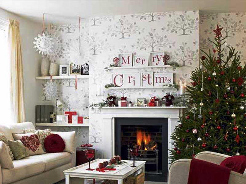 ... Christmas Living Room Decorating Ideas 3 ...
