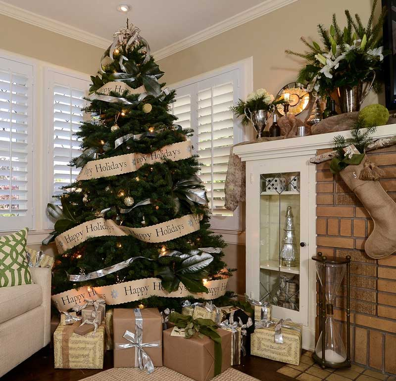 Christmas Living Room Decorating Ideas 8