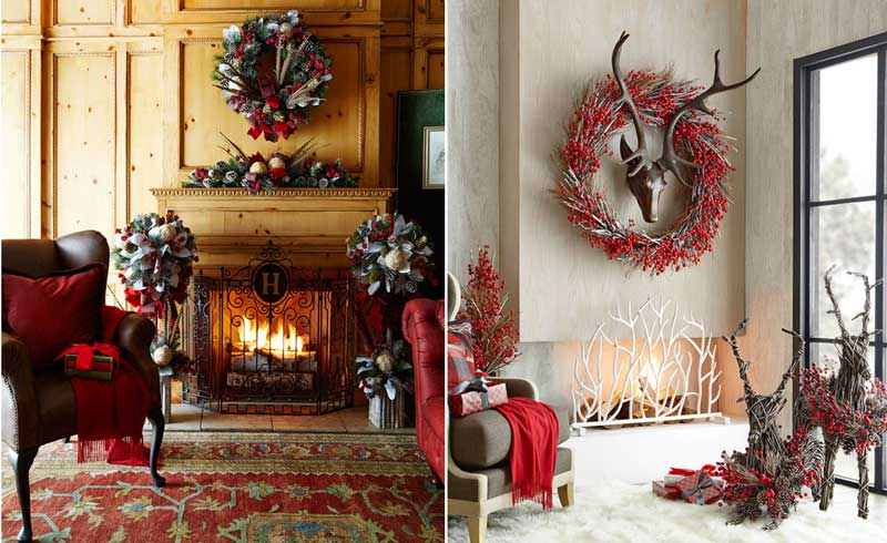 Indoor-Christmas-Decorations---Rustic-Christmas-Design-2
