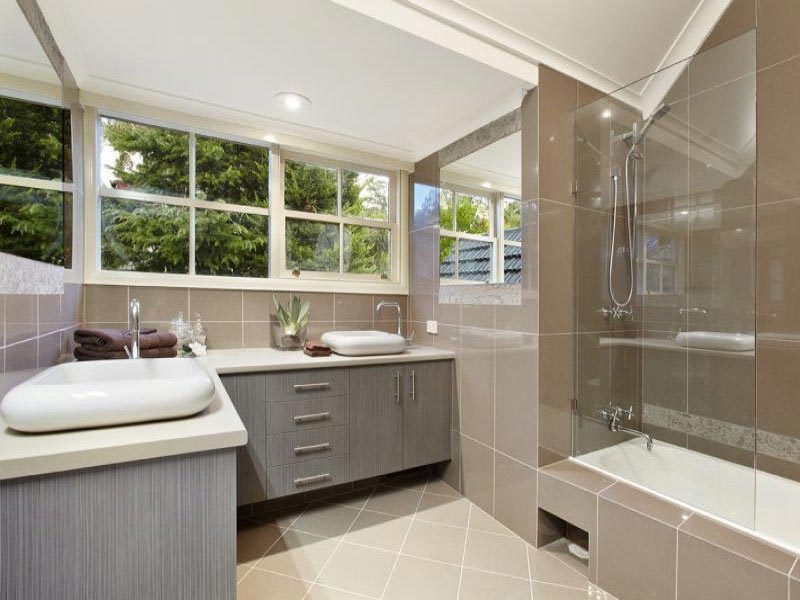 Modern Bathroom Design Ideas Quiet Corner