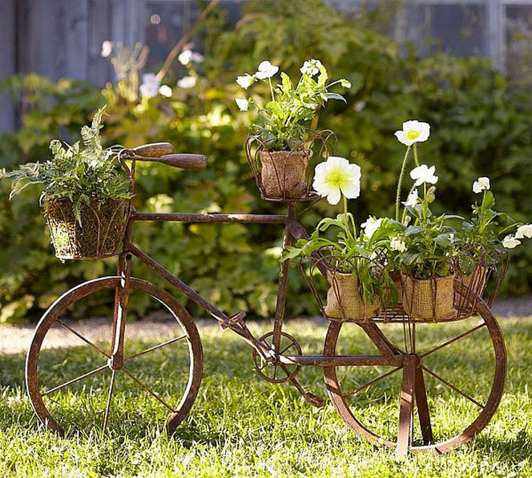Quiet Corner Container Gardening Ideas: Big Garden Ideas