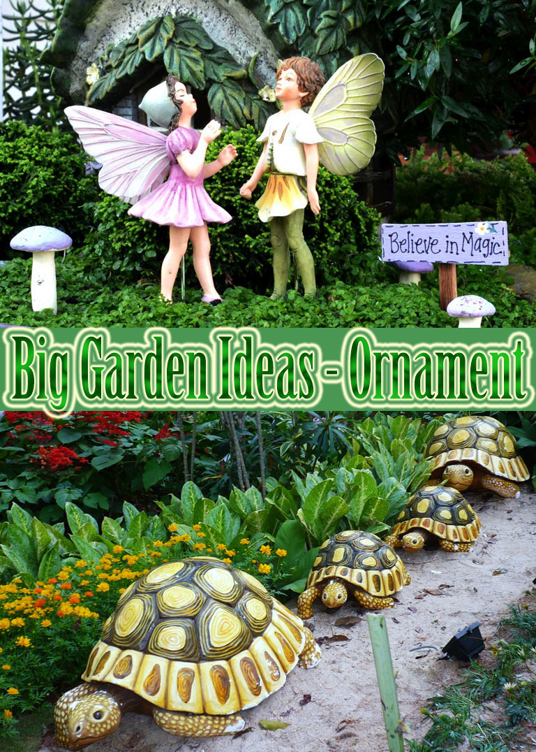 Big Garden Ideas – Ornament