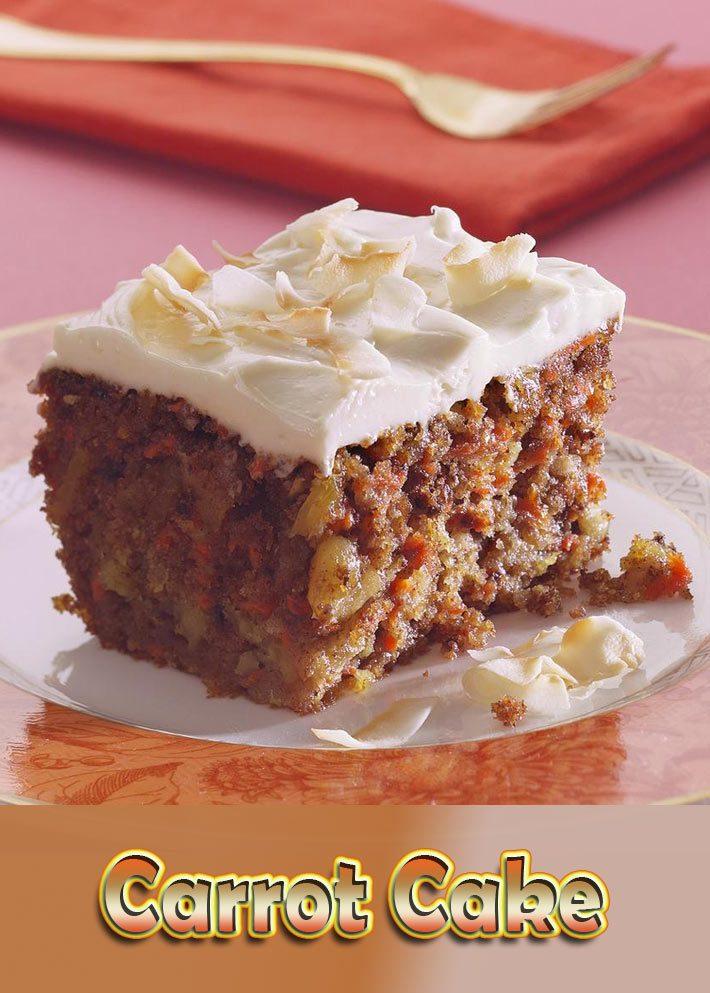 Carrot Cake (White Whole Wheat Flour)