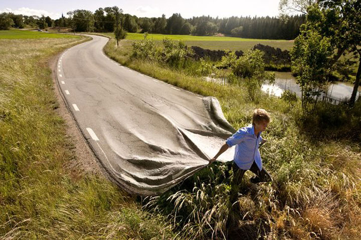 Erik Johansson Amazing optical illusions