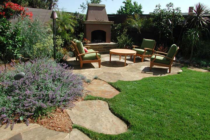 Quiet corner how to create a great landscape design for Great garden designers