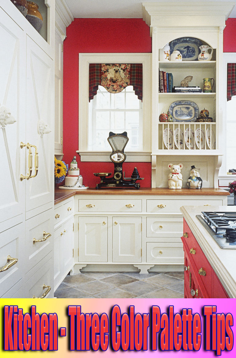 Kitchen – Three Color Palette Tips