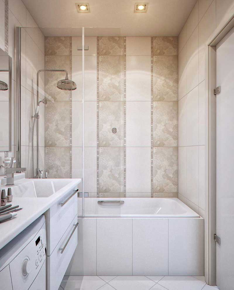 5 small bathroom design ideas quiet corner for Bathroom tiles design