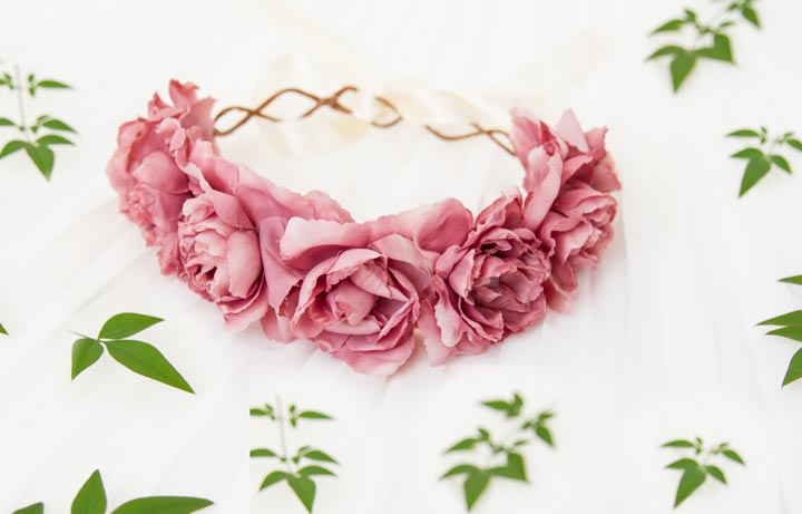Floral Headbands DIY