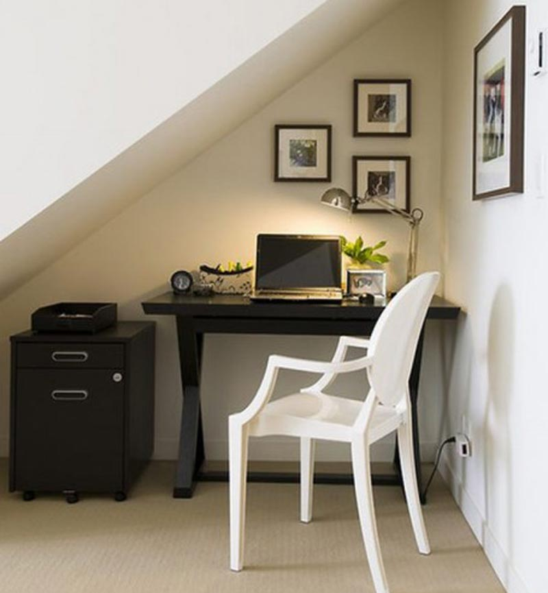 Home office ideas design quiet corner Corner home office design ideas