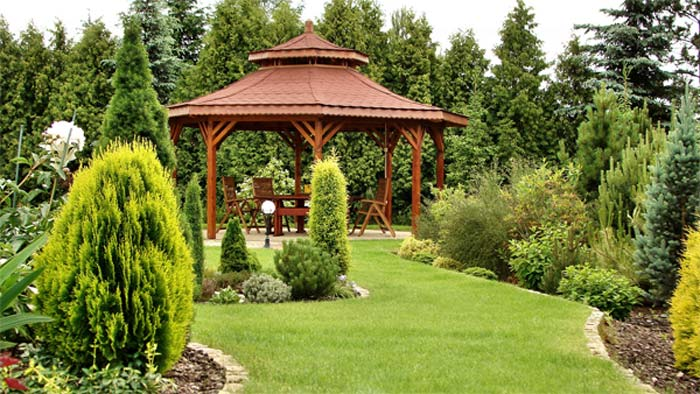 Quiet corner large garden ideas quiet corner for Large garden design ideas