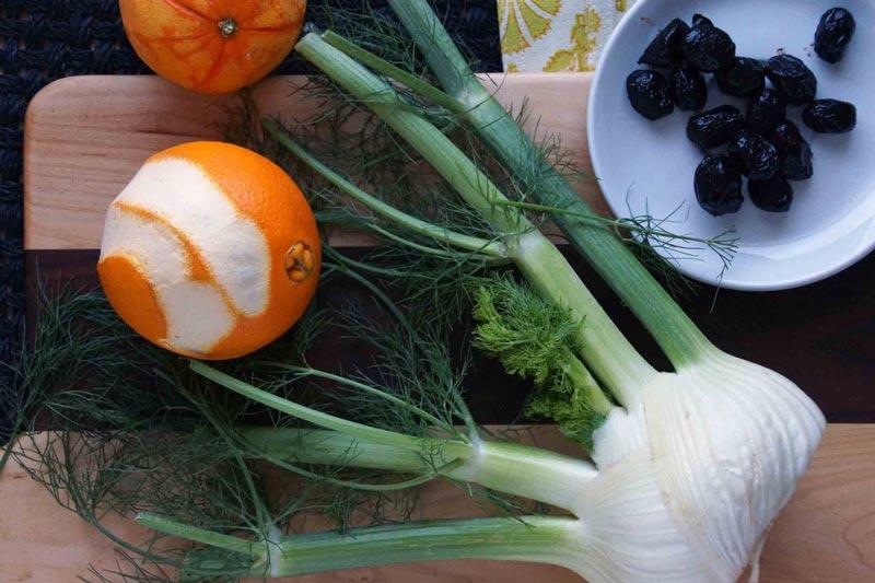 Orange, Olive, and Fennel Salad