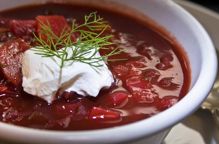 Recipe for Beet Soup - Borscht