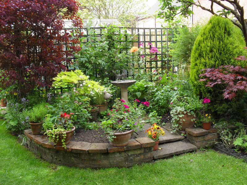Corner Garden Design small garden design ideas - quiet corner