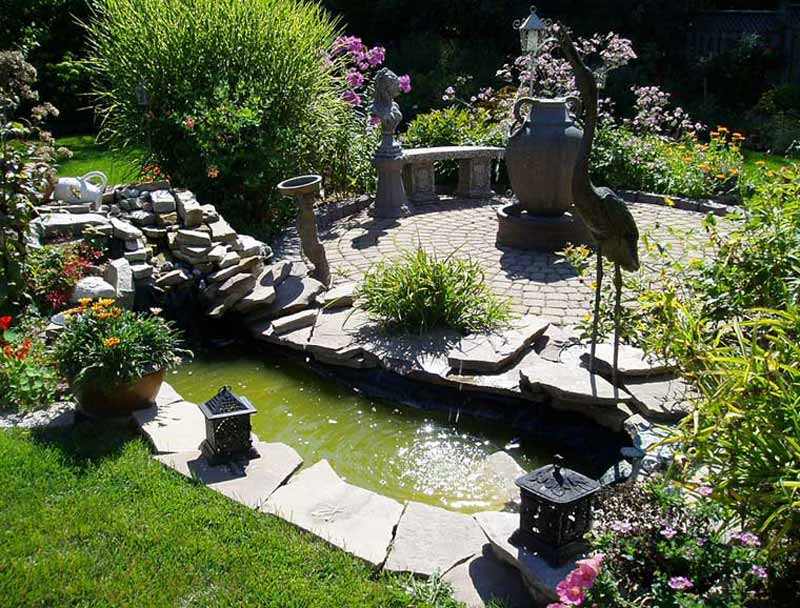 Small garden design ideas quiet corner - Small backyard landscape designs ...