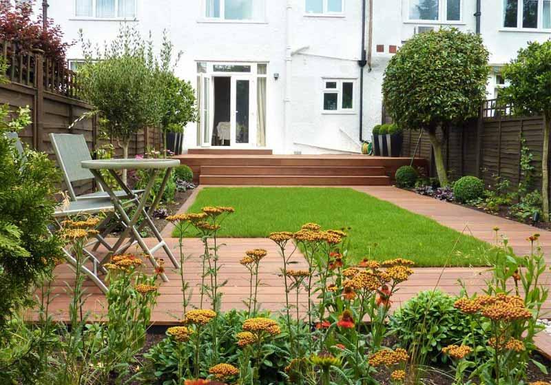 Ten Top Tips For Small Shady Urban Gardens: Quiet Corner:Small Garden Design Ideas