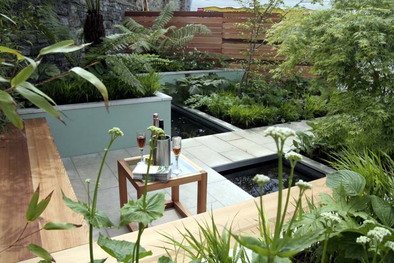 Small Urban Garden Design Ideas Quiet Corner