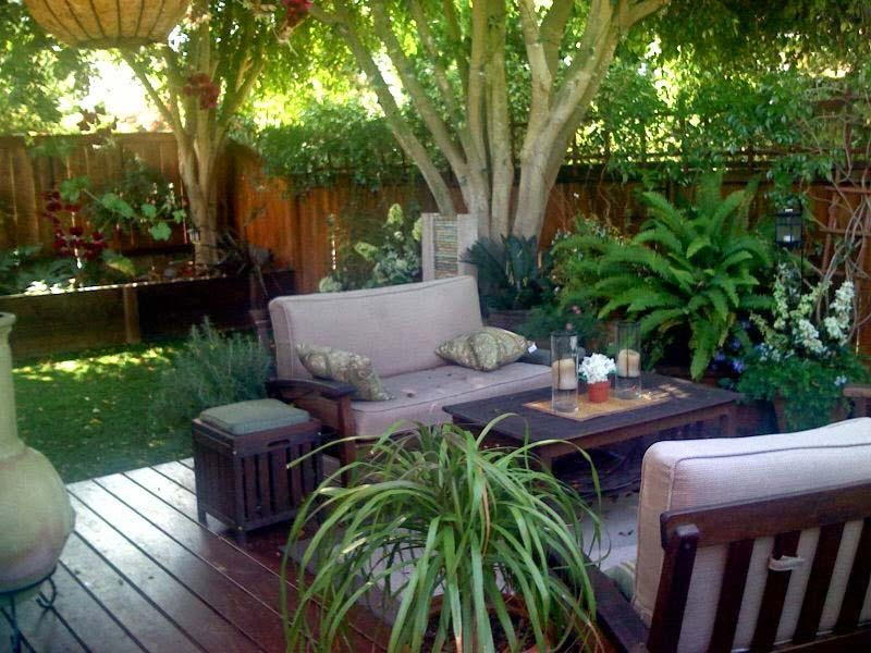 quiet corner small urban garden design ideas