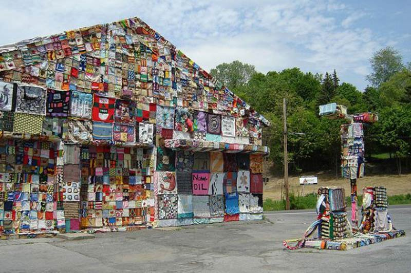 World Reclamation Art Project Gas Station