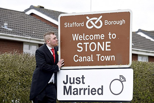Staffordshire Man Married His Local Town
