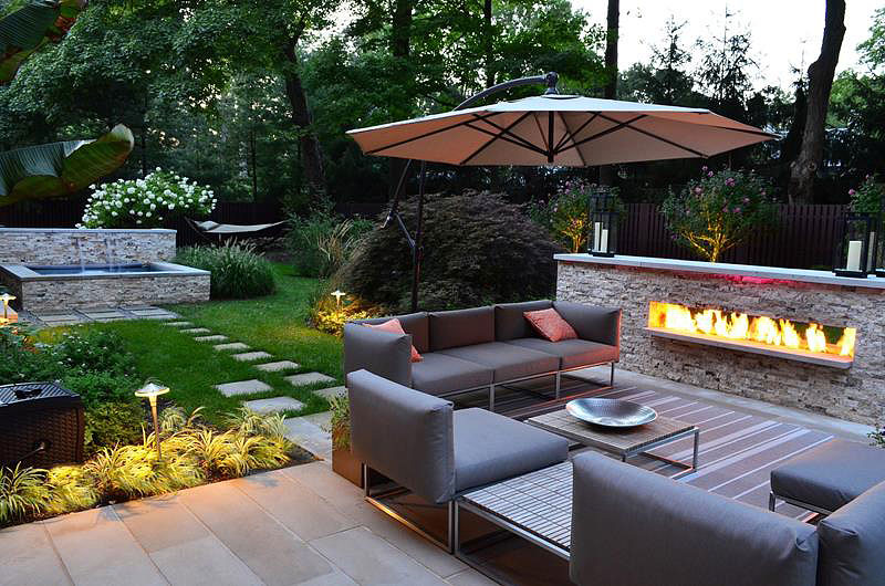 Quiet Corner:Backyard Landscape Design Ideas - Quiet Corner