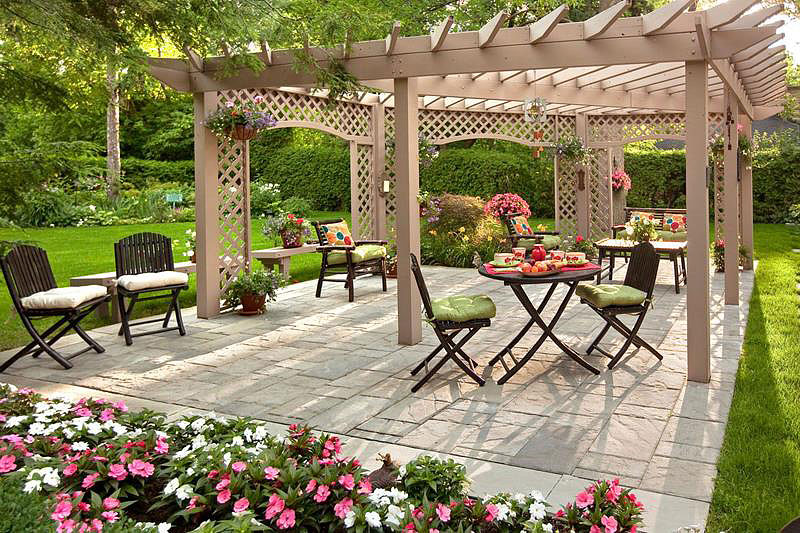 backyard landscape design ideas 1 - Landscaping Design Ideas For Backyard