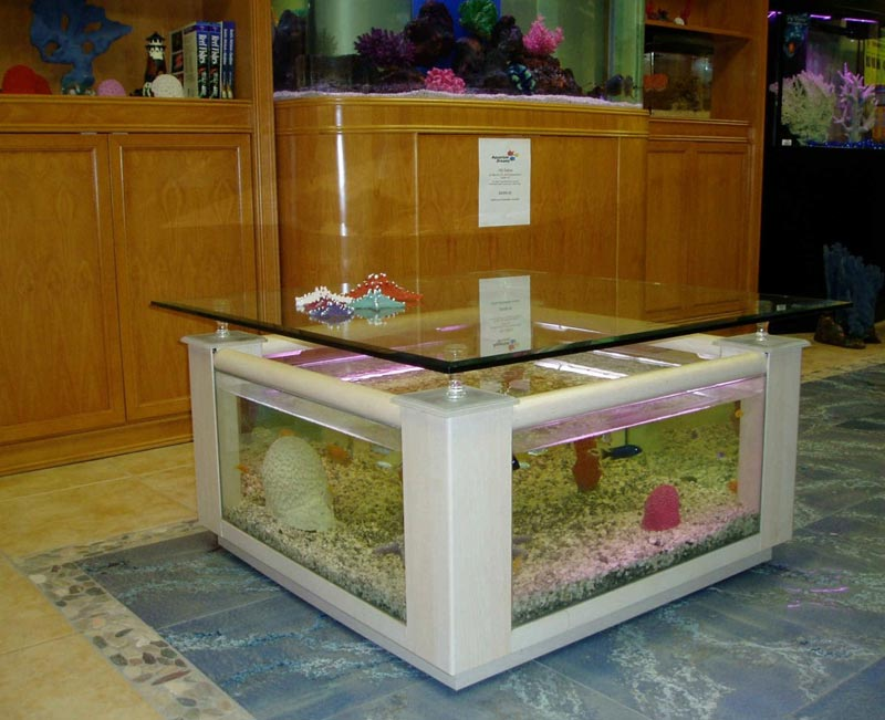 Beautiful Coffee Table Aquariums (11)