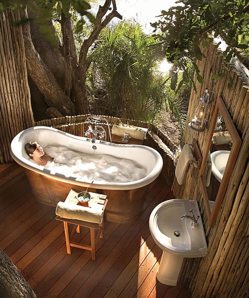 Beautiful Bathrooms With Bidet: Beautiful Outdoor Bathroom Designs