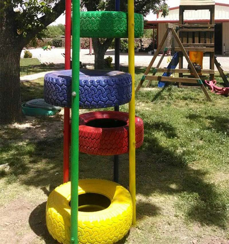 Brilliant Ways To Reuse And Recycle Old Tires (18)