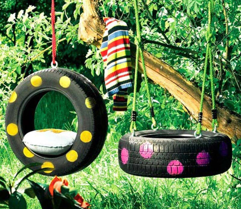 Brilliant Ways To Reuse And Recycle Old Tires (19)