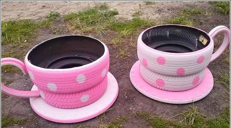 Brilliant Ways To Reuse And Recycle Old Tires (8)