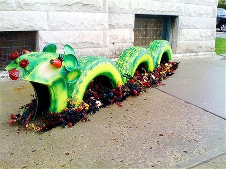 Quiet corner brilliant ways to reuse and recycle old tires for How to recycle old tires