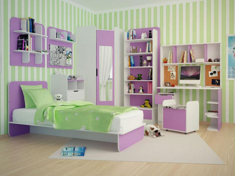 Colorful Kids Room Designs (10)