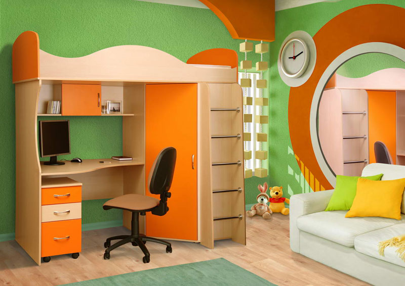 Colorful Kids Room Designs (7)