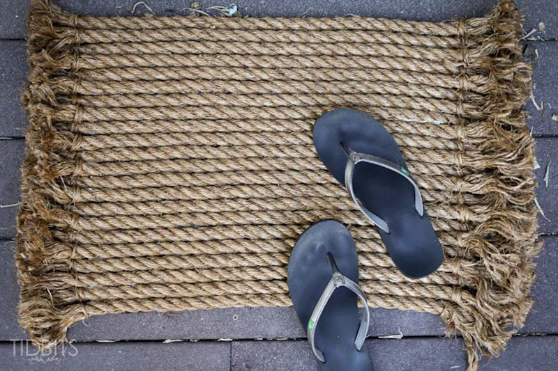 DIY Rope Rug Creative Ideas (20)