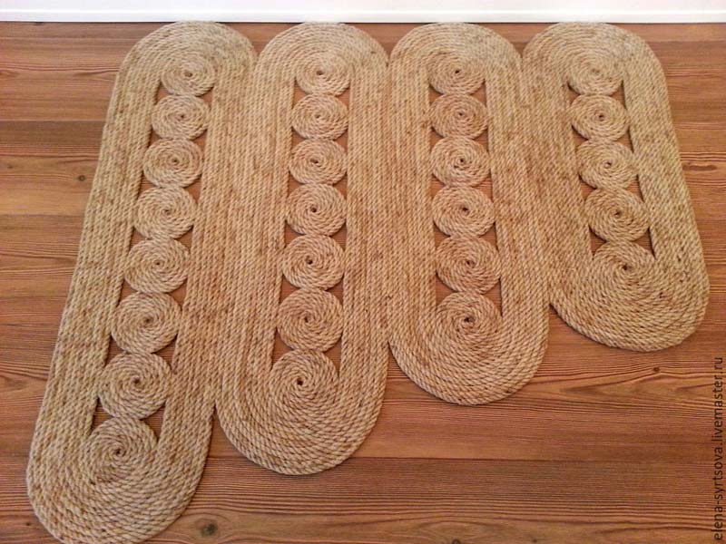 DIY Rope Rug Creative Ideas (23)