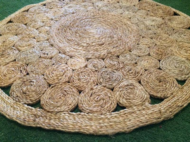 Quiet Corner Diy Rope Rug Creative Ideas Quiet Corner