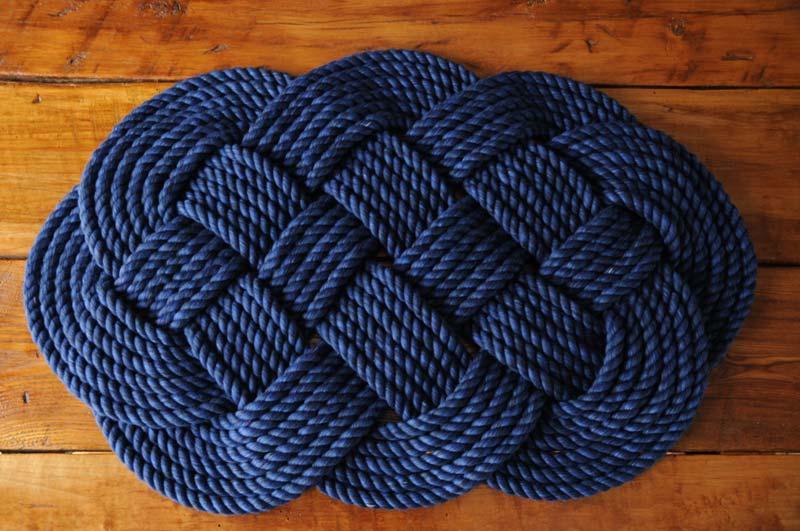 DIY Rope Rug Creative Ideas (25)