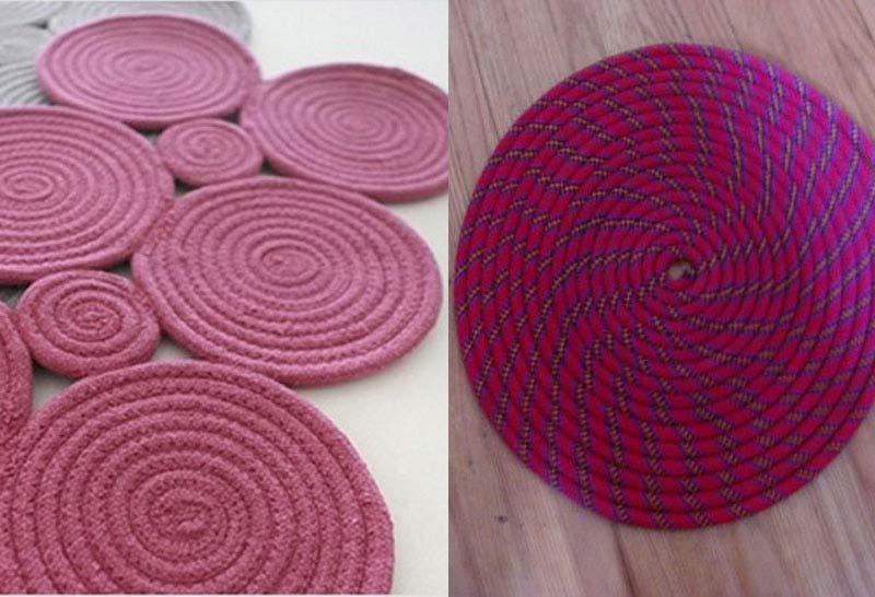 DIY Rope Rug Creative Ideas (3)