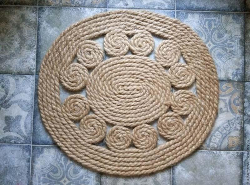 DIY Rope Rug Creative Ideas (7)