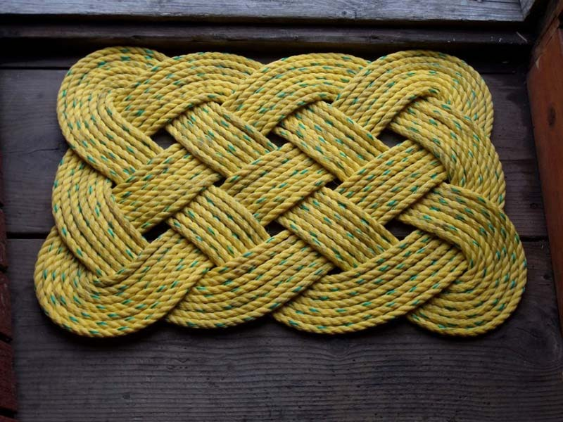 DIY Rope Rug Creative Ideas (9)