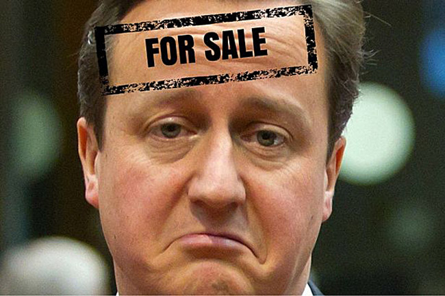 David Cameron Auctioned on eBay!