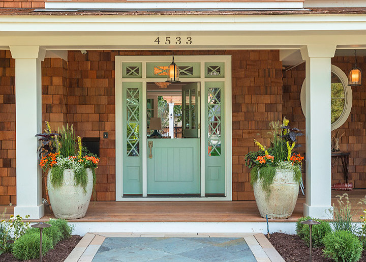 make beautiful front door entrance for good first impression