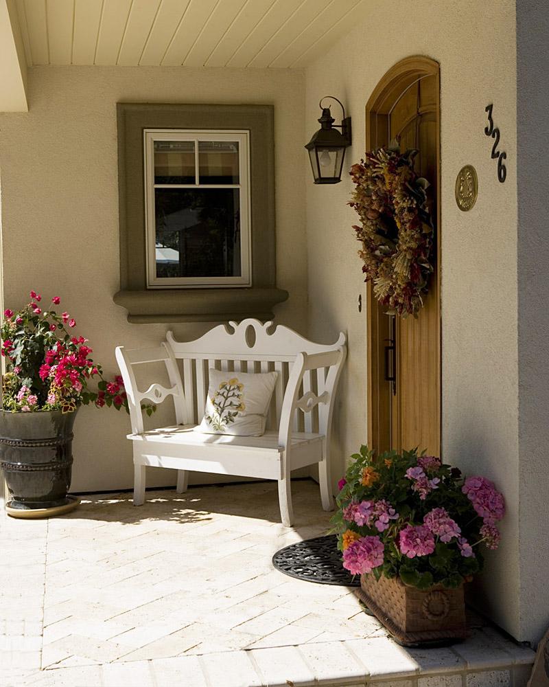 Exterior Entryway Ideas : Front door entrance ideas quiet corner