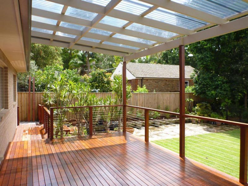 great deck design ideas quiet corner