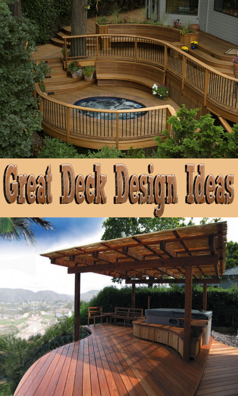 Great Deck Design Ideas