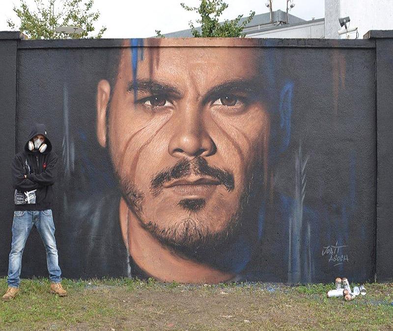 Hyperrealistic Street Art Portraits by Jorit AGOch (12)