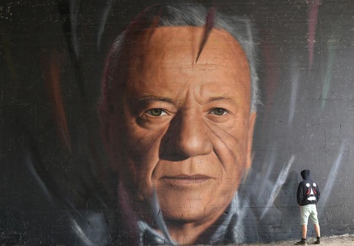 Hyperrealistic Street Art Portraits by Jorit AGOch