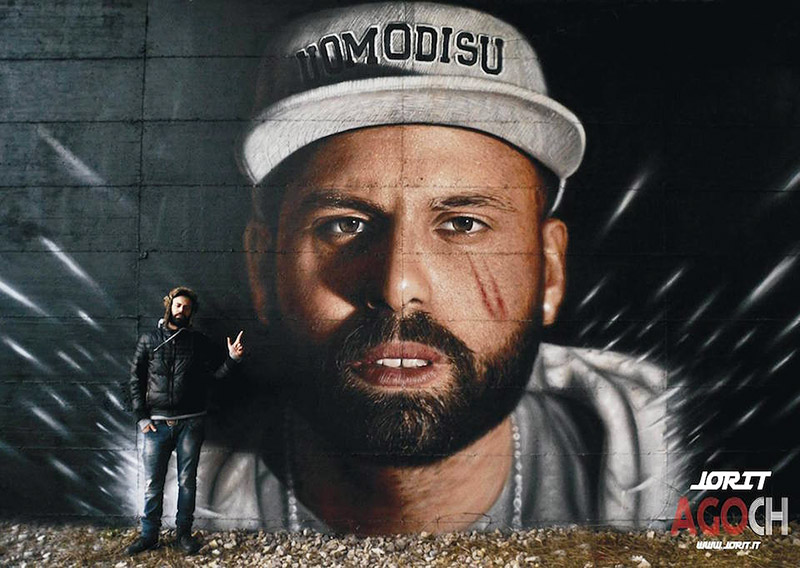 Hyperrealistic Street Art Portraits by Jorit AGOch (3)